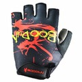 Half Finger Safety Bicycle Motorcycle Racing Gloves BOODUN