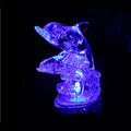 Color-changing Night Light Abs Creative Crystal Animal