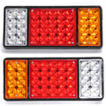Ute Trailer Lights Rear 36LED Car Pair Truck Reverse Tail Stop