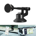 Holder Car Aluminum Alloy Magnetic Suction Cup Absorb Navigation Phone ABS