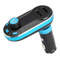 USB Charger Player FM Transmitter Radio Adapter Wireless Bluetooth Car Kit MP3