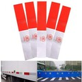 Night Reflective Tape Stickers Decals Safety Warning Truck DIY Strip Red White