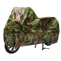 Rain Dust Cover Protector Camouflage Motorcycle Bike Scooter