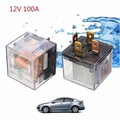 Transparent Car Automotive Relay Device 12V Auto 100A Waterproof 4pin Control