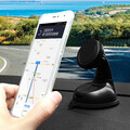 360 Degree Rotatable Magnetic Phone Holder Universal Suction Cup Mount