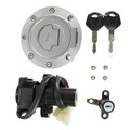 Motor Ignition Switch Key Fuel Tank Gas Cap Seat Lock Set For Yamaha YZF R6