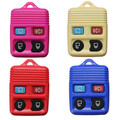 Remote Key Shell Fob Case Ford 4 Button Rubber Pad 4 Color