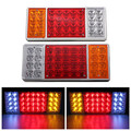 Reverse Lights Trailer Truck 36 LED 12V Stop Rear Tail Indicator