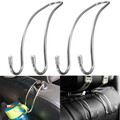 Stainless Steel Purse 2Pcs Hanger Seat Headrest Boat Universal For Car Truck Hook Holder Bag