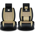 Car Seat Car Front Rear PU Leather Seat Cushion Cover