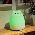 Kids Room Color-changing Animal Home Decoration Led Night Light Smart Emergency Light Silicone