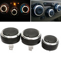 3pcs knob Switch Air Conditioning Buttons