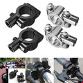 Motorcycle Handlebar Mirror Mount 10mm Adapter Clamp
