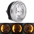 Inch Motorcycle H4 35W Turn Signal Light For Harley Front Headlight Bulb
