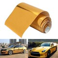 Gold Air Bubble Vinyl Wrap Film Free Car Sticker Decal