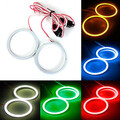 Headlight 2 X Angel Eyes Halo Ring Lamp CCFL 80mm COB