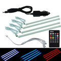 4in1 Car 30cm Controller Chassis Lights Lamp Interior RGB Voice Atmosphere