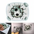 Decal Adhesive Waterproof Football Car Sticker 3D Stereoscopic Simulated
