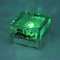 Crystal Solar Power Color Changing Garden Path Driveway Light Brick