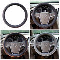 Leather Car Steel Ring Wheel Universal 38CM 3 Colors