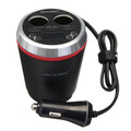 Bluetooth with Cigarette Lighter Kit FM Transmitter USB Charger Car MP3 Player