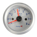 Tachometer 12V Gauge Meter 2 inch 52mm Blue LED Pointer Tacho
