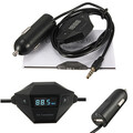 Adapter For iPhone FM transmitter In-Car Car Charger Radio 3.5mm
