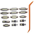 Kit for Audi A4 Lamp Car LED B8 Package 15Pcs Interior Lights Avant