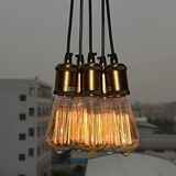 Kids Room Office Study Room Bedroom Pendant Light Electroplated Entry Dining Room