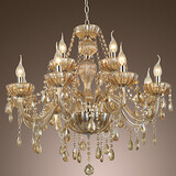 Living Luxury Modern Lights Crystal Chandelier