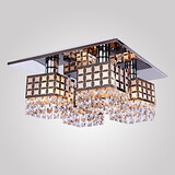 Crystal Stainless Modern Chandelier Lights Living