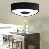 Light Flush Mount Fixture Led Modern Style Ceiling Lamp Bedroom Living Room