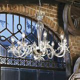 Electroplated Chandelier Traditional/classic Max 60w Living Room Dining Room