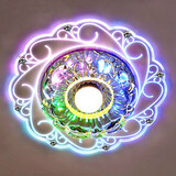 Color Dome Led Spotlight Ceiling Lamp 3w Tube Colorful