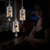 Others Glass Dining Room Crystal Office Living Room Study Room Bedroom Pendant Lights