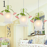 Flowers Light Day Garden 1pcs Dome Led