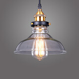 Light Office Edison Cap Hallway Glass Industrial