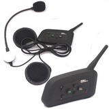Channels Helmet Intercom Talking People 2PC Group US Plug Change with Bluetooth 1000m