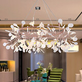 Creative Innovation Modern Snowflake Led Lamps Leaf Tree Northern