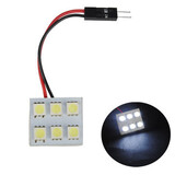 Light Bulb Car White LED 5050 6SMD Interior Dome Door Reading Panel