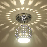 Entry Hallway Led Dining Room Modern/contemporary Flush Mount Mini Style Metal