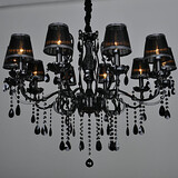 Living Room Light Crystal Metal Chandeliers Modern/contemporary