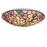Glass Light 16inch Retro Fixture Tiffany
