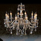 Crystal Bedroom 220v Ecolight Cognac Color K9 Chandelier 110v