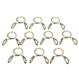 10pcs Clips Fuel Line Hose Tubing Spring Clamps Motorcycle ATV Scooter 8mm