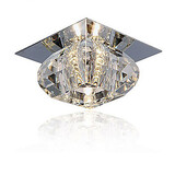 Living Room Crystal Modern/contemporary Bedroom Dining Room Flush Mount 20w