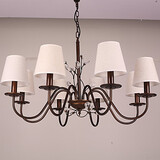Bedroom Painting Feature For Mini Style Metal Country Chandelier Living Room Dining Room