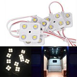 LWB Van Lorries Kit 4LED White 10 X Car 12V Sprinter Ducato Transit Interior Light VW