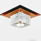 Square Crystal Dome Tube Lamp Creative Spotlight Led Ceiling Lamp