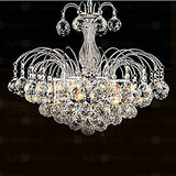 Living Pendant Luxury Lights Modern Crystal